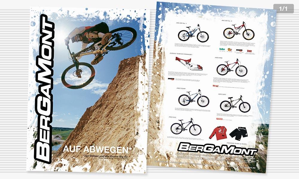 Bergamont Dirtbike Poster