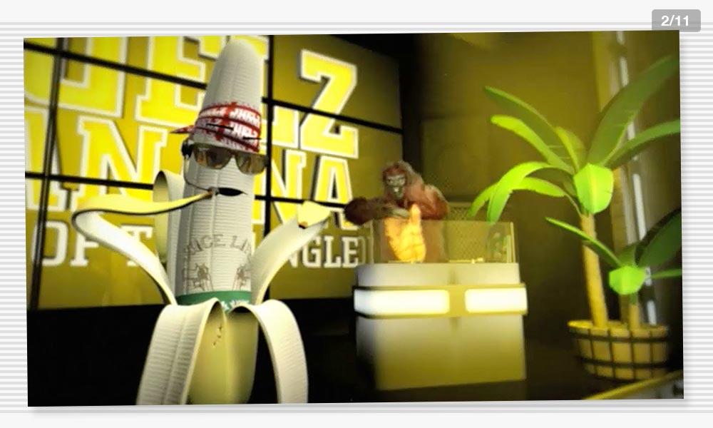 3D Modeling Characterdesign Juelz Banana