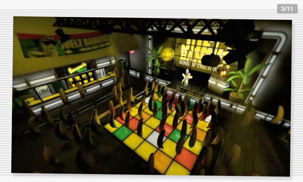3D Modeling Dancefloor1 Juelz Banana