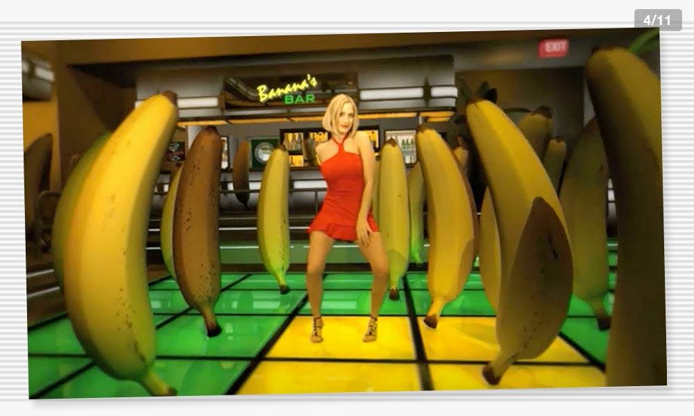 3D Modeling Dancefloor2 Juelz Banana