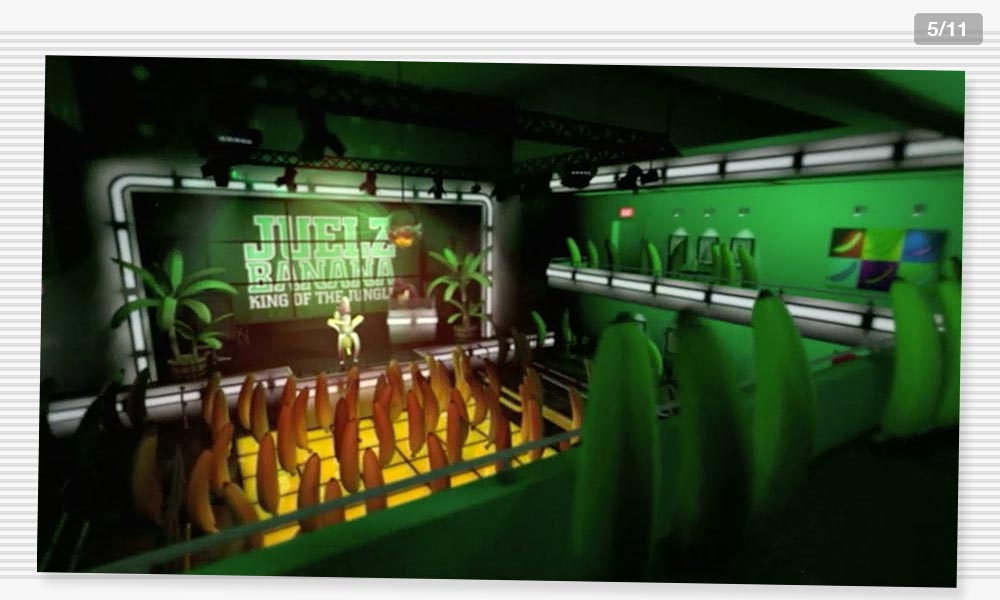 3D Modeling Dancefloor3 Juelz Banana