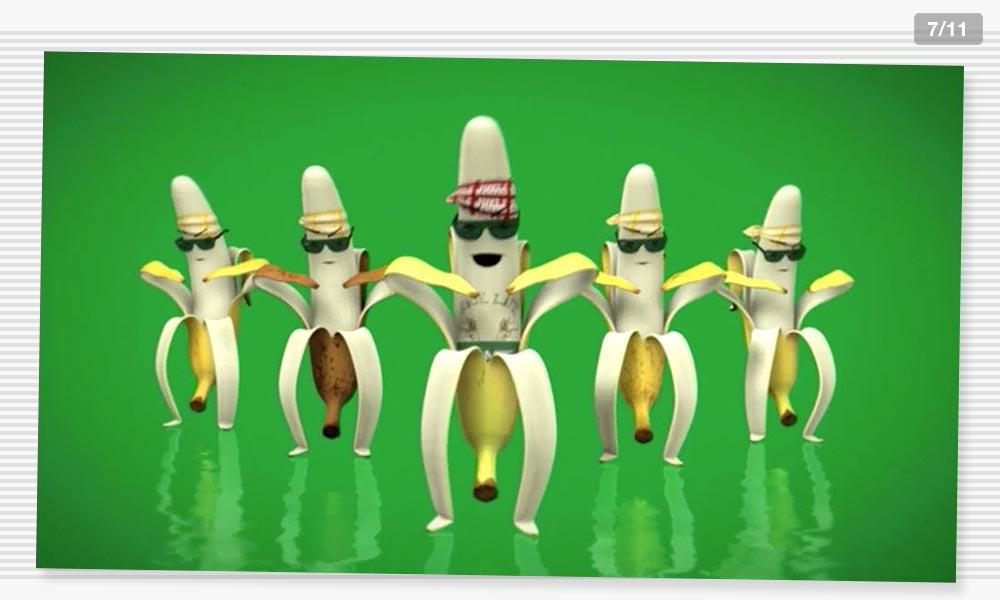 3D Modeling Dancecrew1 Juelz Banana