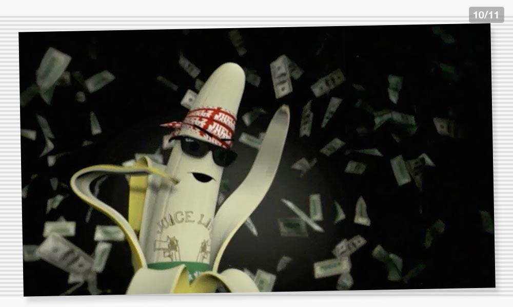 3D Modeling Moneyshot Juelz Banana