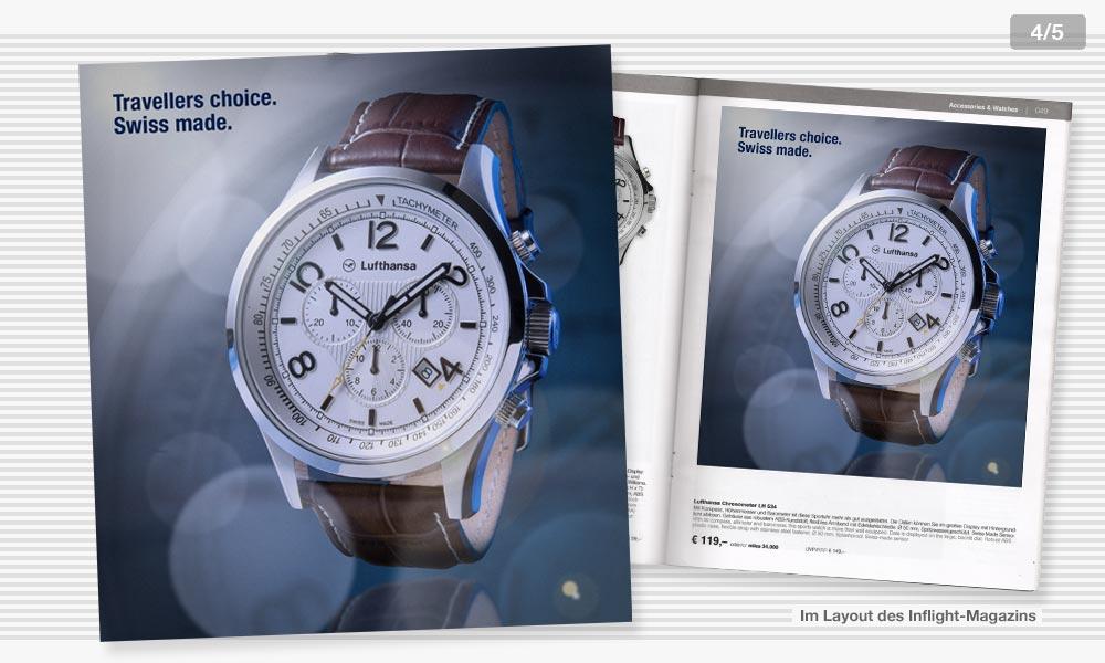 Lufthansa Anzeigenentwicklung 4
