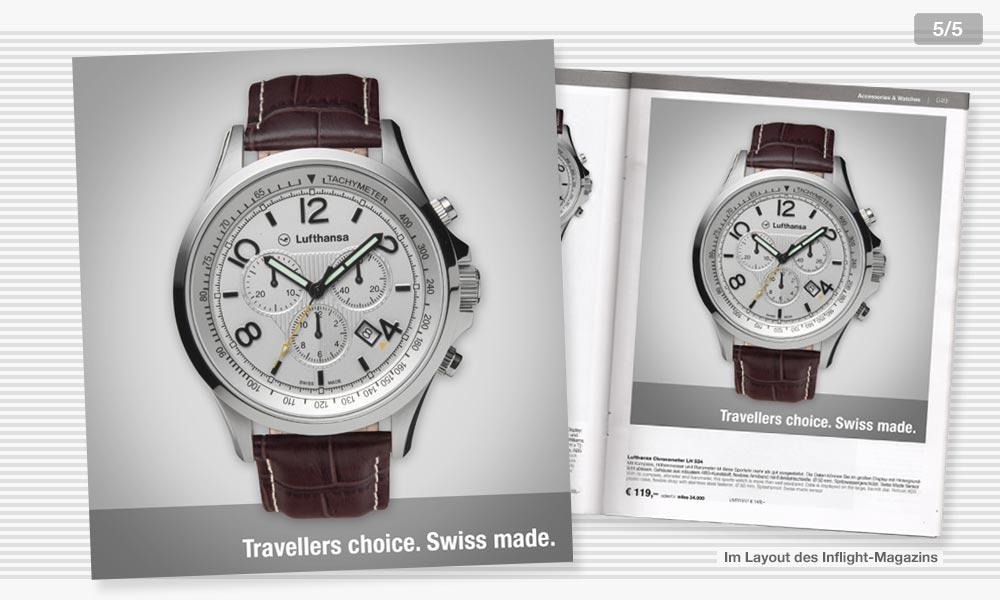 Lufthansa Anzeigenentwicklung 5