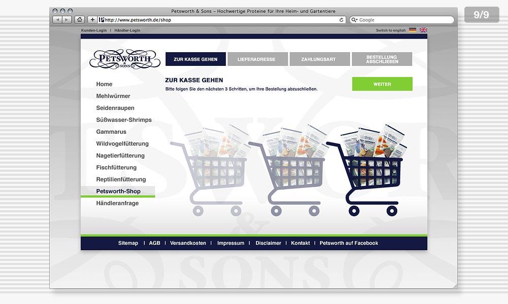 Petsworth Website